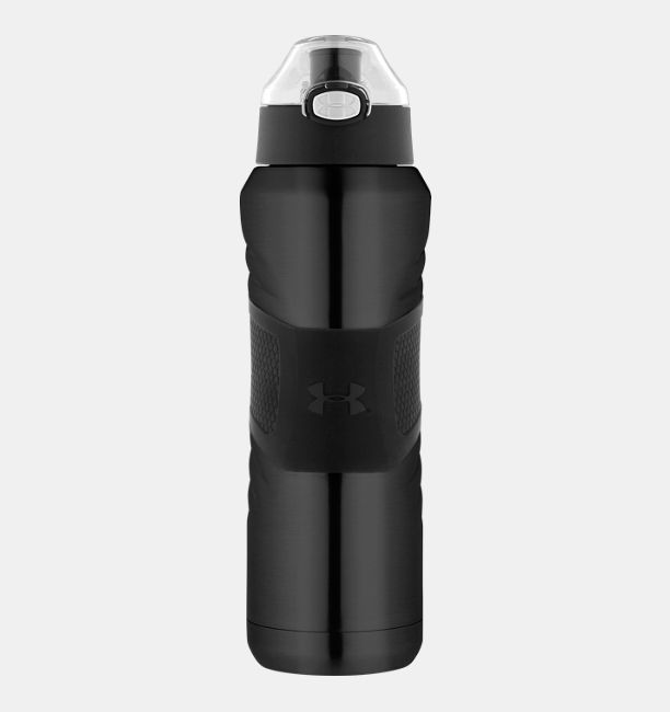 Ua Dominate 24 Oz Vacuum Insulated Water Bottle With Flip