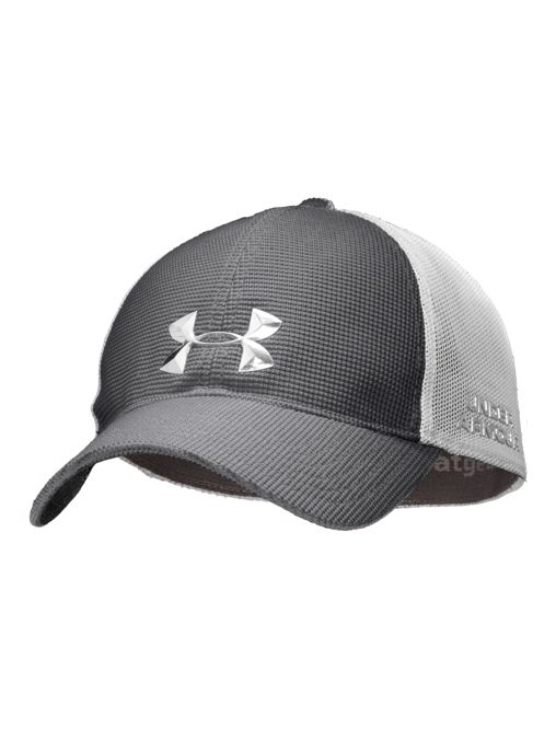 Men s UA Blitzing Stretch Fit Cap  d574fb2bbf9