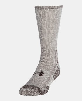 UA Charged Wool Boot Socks 2-Pack