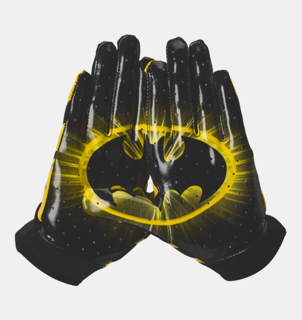 Boys Ua Alter Ego F4 Batman Football Gloves Under Armour Us