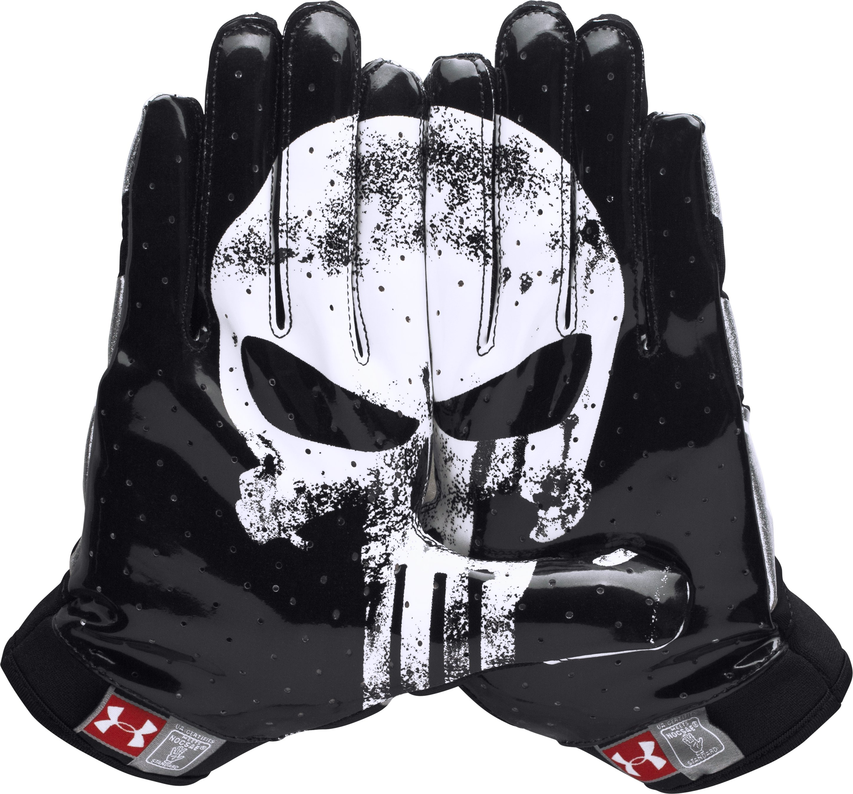Men's Under Armour® Alter Ego Punisher F4 Football Gloves ...
