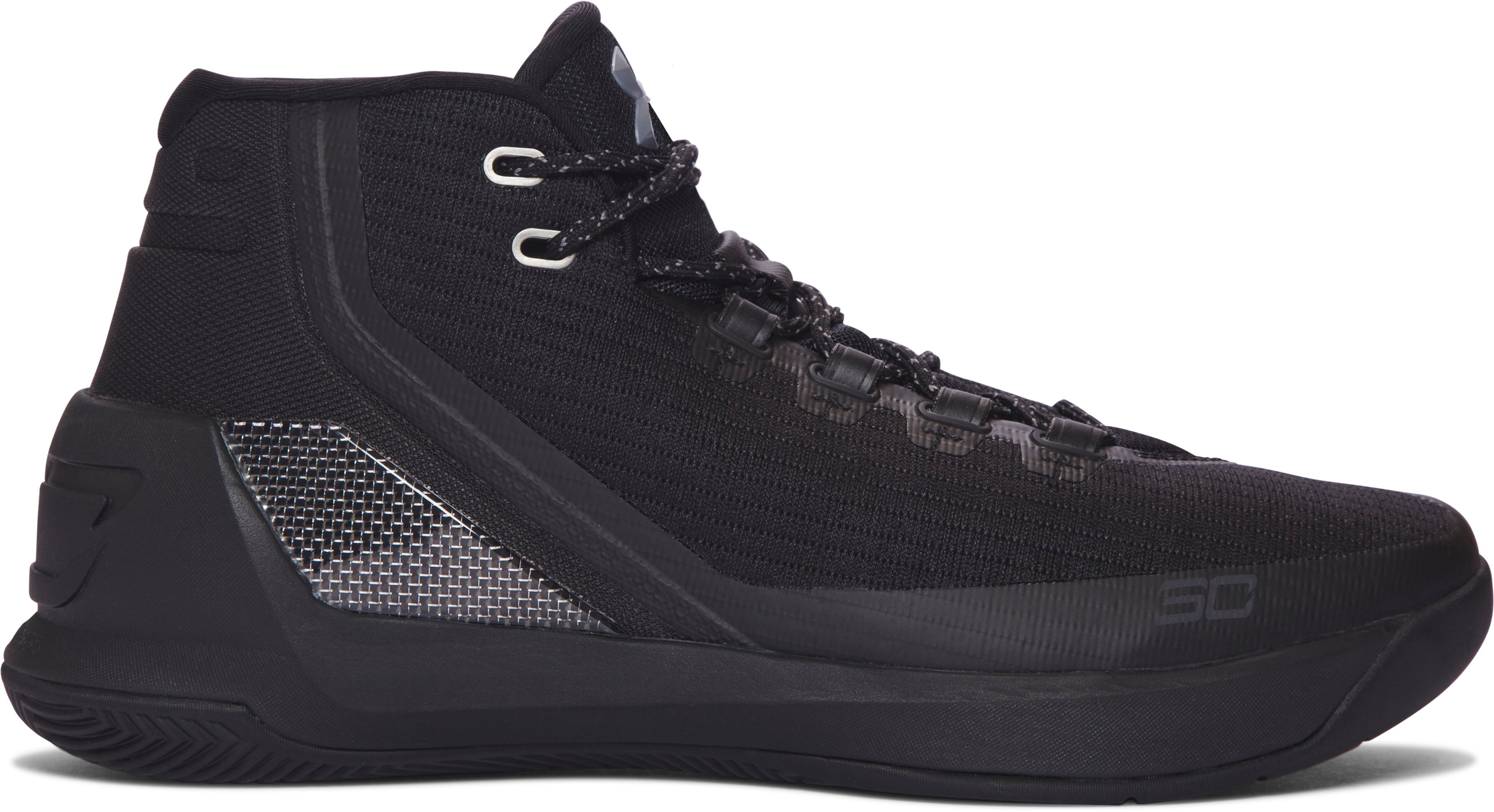 Men's UA Curry Three Basketball Shoes, 360 degree view