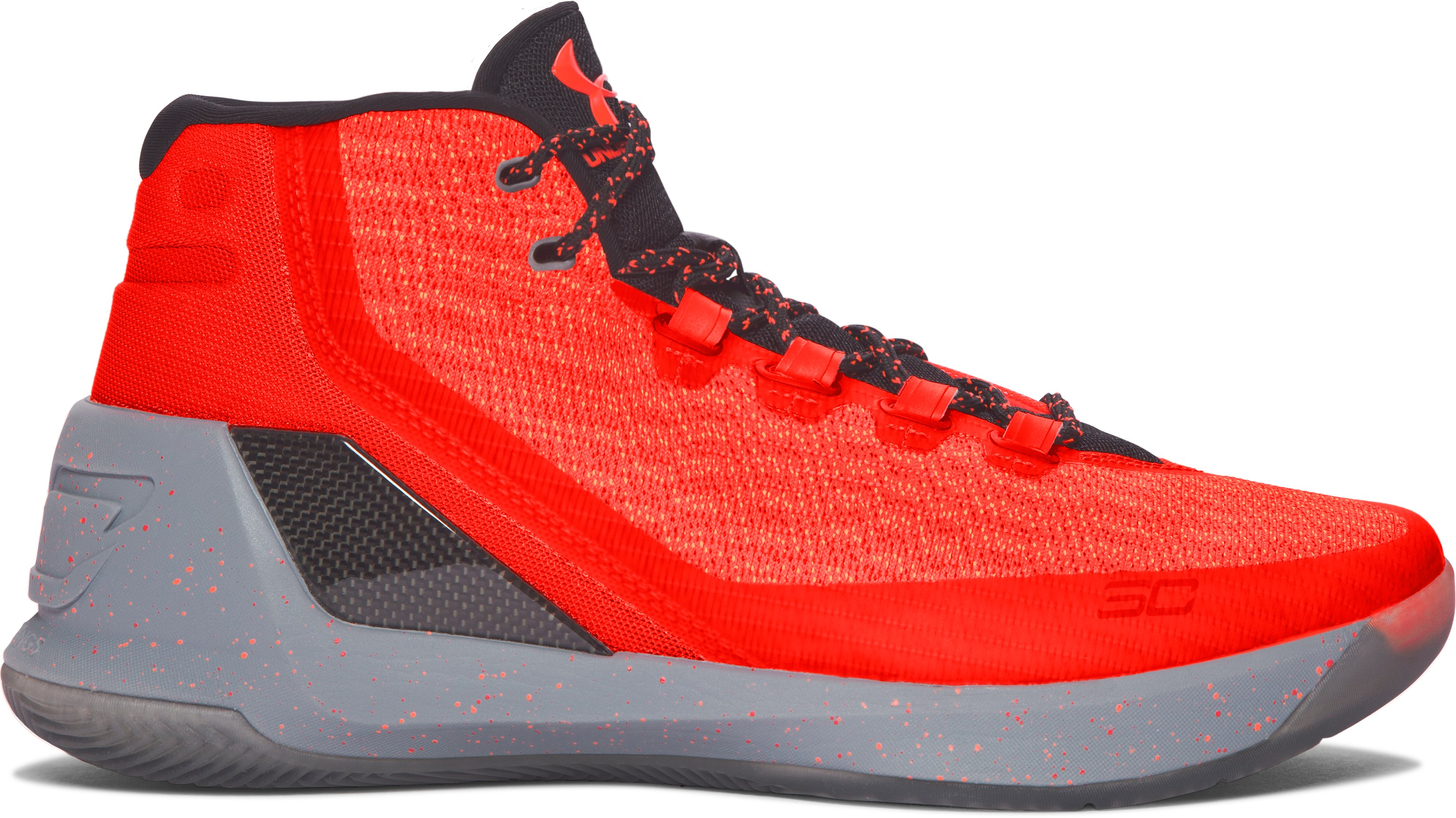 Men's UA Curry 3 Basketball Shoes, 360 degree view