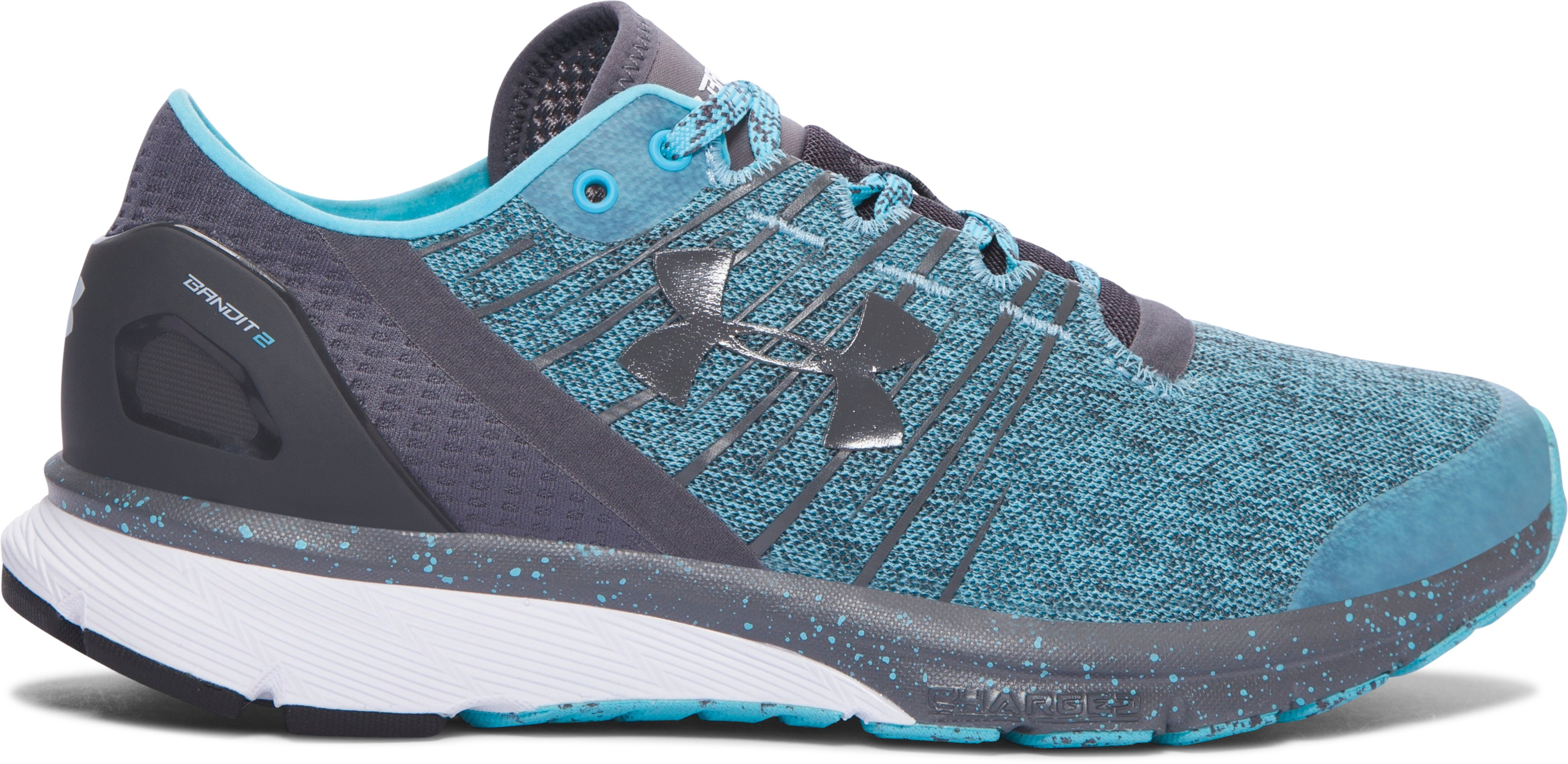 Zapatos de Running UA Charged Bandit 2 para Mujer, 360 degree view