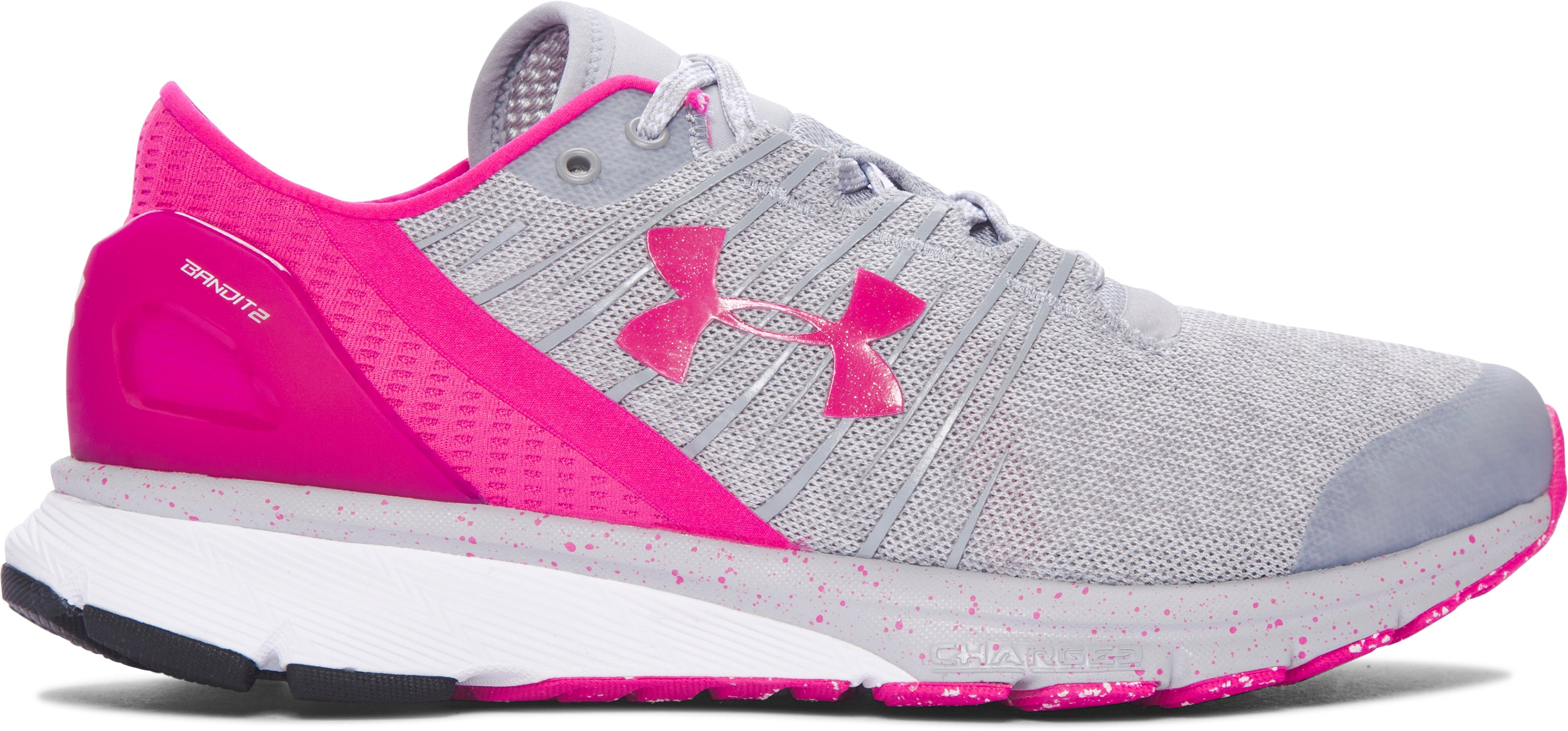 Zapatillas de Running UA Charged Bandit 2 para Mujer, 360 degree view