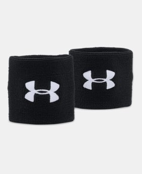 언더아머 UA Under Armour Mens UA 3 Performance Wristband – 2-Pack