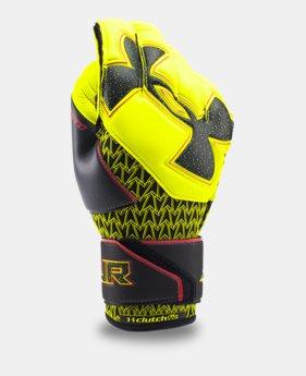 언더아머 UA 골키퍼 장갑 Under Armour Mens UA Desafio Soccer Gloves,High-Vis Yellow (1279429-731)