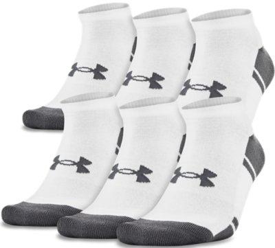 UA Resistor III No Show Socks - 6-Pack