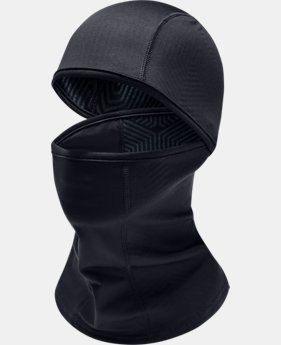 언더아머 Under Armour Mens UA ColdGear Infrared Balaclava,Black (1283116-002)