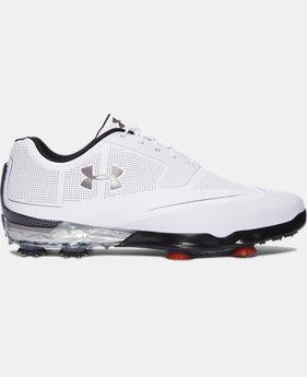 언더아머 투어팁스 남성 골프화 Under Armour Mens UA Tour Tips Golf Shoes,White (1288575-102)