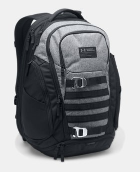 언더아머 Under Armour Mens UA Huey Backpack,Graphite (1294717-040)