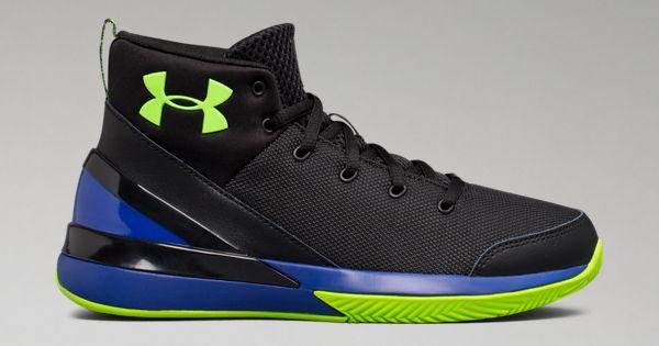 Boys  Grade School UA X Level Ninja Basketball Shoes  374210c5507