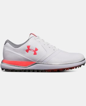 언더아머 스파이크리스 여성 골프화 Under Armour Womens UA Performance Spikeless Golf Shoes,White (1297176-100)