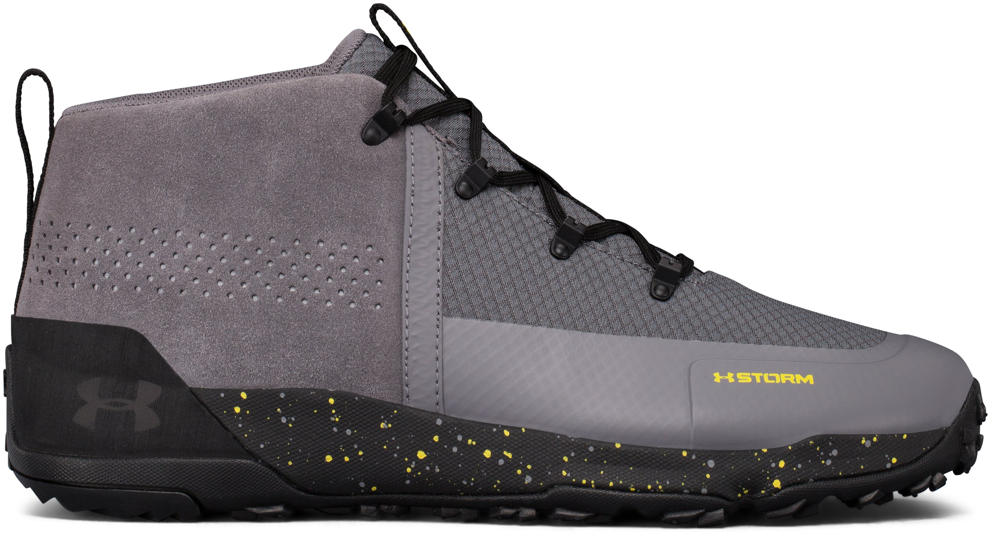 Men's UA Burnt River 2.0 Mid Hiking Boots, 360 degree view