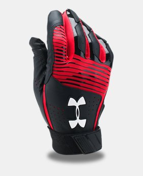 언더아머 UA 클린업 야구 배팅장갑 Under Armour Men's UA Clean Up Baseball Gloves