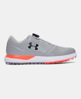 언더아머 UA 스파이크리스 보아 여성 골프화 스틸 Underarmour Women's UA Performance Spikeless BOA Golf Shoes,#1299943
