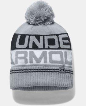 언더아머 Under Armour Mens UA Retro Pom 2.0 Beanie