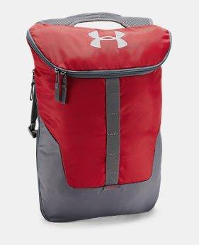 언더아머 UA UA 익스팬더블 색팩 레드 Under Armour UA Expandable Sackpack,Red (1300203-600)
