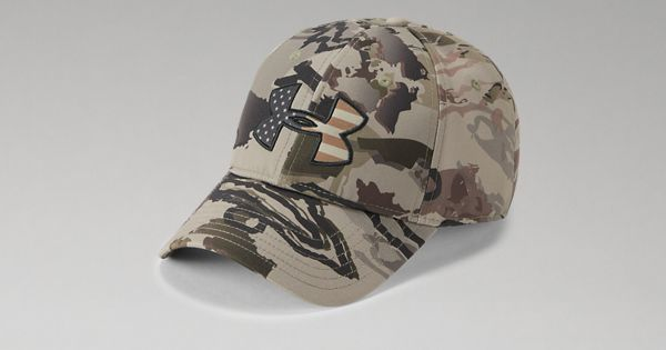 a96bd4d96fc Men s UA Camo Big Flag Logo Cap