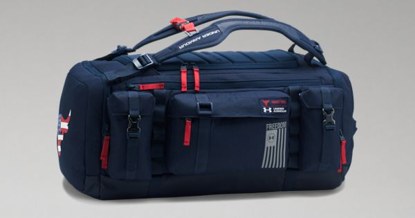 UA x Project Rock Freedom Range Duffle  2c5385387c0d0