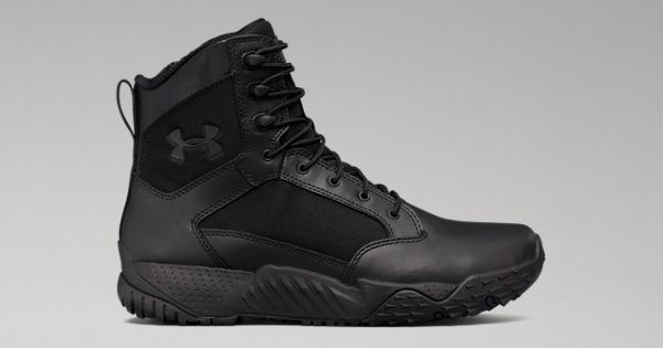 Mens UA Stellar Tactical Side Zip Boots Under Armour US