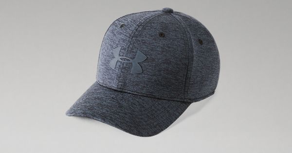 New Under Armour Women/'s Graphite//Steel Baseball Hat Curved Bill Adjustable OSFA