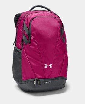 언더아머 UA UA 팀 허슬 3.0 백팩 - 트로픽 핑크 Under Armour UA Team Hustle 3.0 Backpack,Tropic Pink (1306060-654)