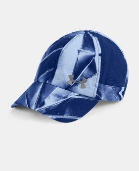 언더아머 모자 UA 볼캡 Under Armour Womens UA Fly-By Cap,FORMATION BLUE (1306291-574)
