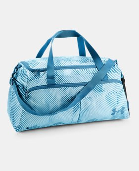 언더아머 UA UA 여성 언디나이어블 더플백 블루 Under Armour Womens UA Undeniable Duffle- Medium,Halogen Blue (1306406-441)
