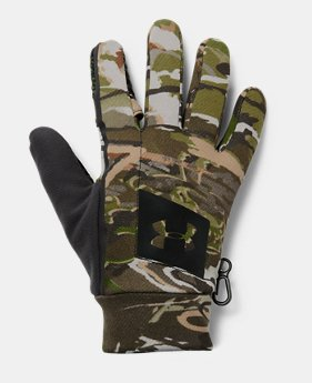 언더아머 장갑 Under Armour Mens UA Hunt Early Season Fleece Glove