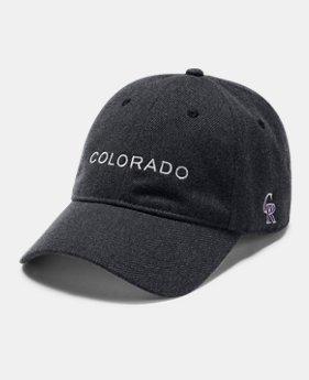 언더아머 MLB 팀별 텍스트 로고 볼캡 (COL, HOU, NYY, BAL, CHC, BOS) MLB Wool Cap