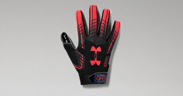 Men S Ua F6 Patterned Football Gloves Under Armour Us