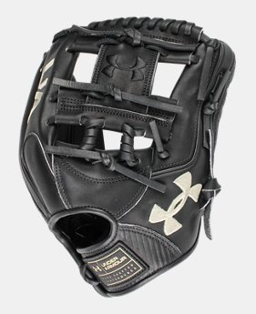 언더아머 UA 야구 글러브 Under Armour UA Flawless 11.5 Baseball Fielding Glove,Black (1328471-001)