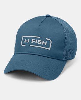 언더아머 Under Armour Mens UA Fish Hook Trucker Cap