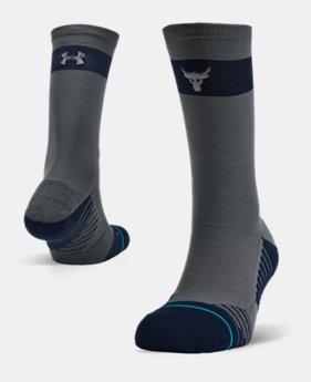 언더아머 Under Armour UA x Stance Project Rock Crew Socks
