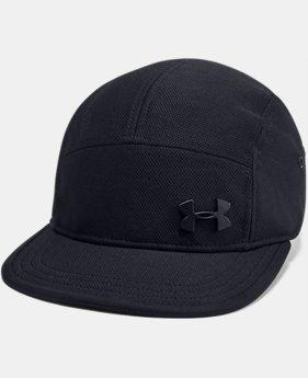 언더아머 Under Armour Mens UA Textured Camper Cap,Black (1343172-001)