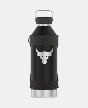 [언더아머 프로젝트 락 컬렉션] 물병 1200ML Under Armour Project Rock Peak 40 oz Water Bottle, Graphite (1343470-040)