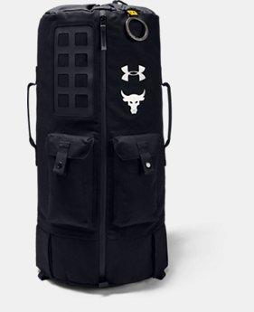 [언더아머 프로젝트 락 컬렉션] 90 백팩 Under Armour Mens Project Rock 90 Bag,Black (1347221-001)