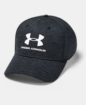 언더아머 Under Armour Mens UA Twist Classic Fit Cap,Black (1349508-001)