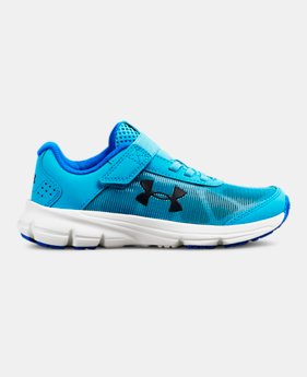 언더아머 걸즈 운동화 Under Armour Girls Pre-School UA Rave 2 Alternative Closure