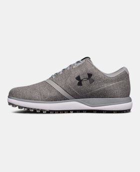 언더아머 UA 스파이크리스 SL선브렐라 남성 골프화 Under Armour Mens UA Performance SL Sunbrella Spikeless Golf Shoes,#3020064