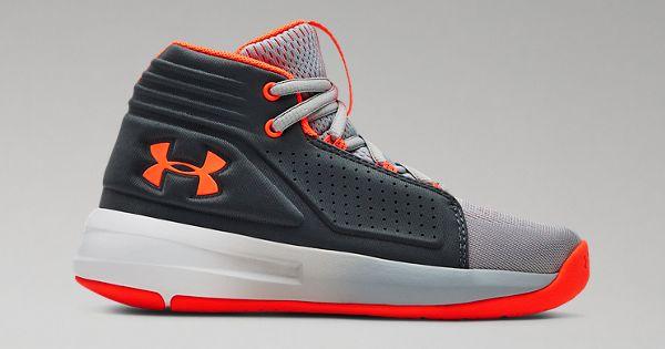 f47d2aee238f Boys  Pre-School UA Torch Mid Basketball Shoes