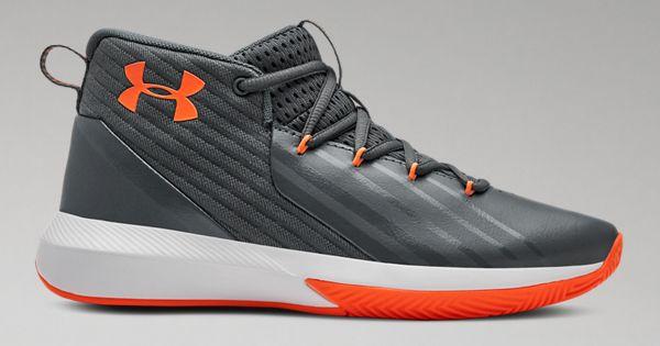 97c4640f252e Boys  Grade School UA Lockdown 3 Basketball Shoes
