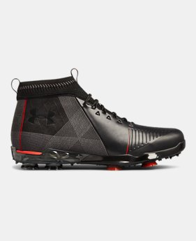 언더아머 UA 남성 스피스2 골프화 Under Armour Mens UA Spieth 2 Mid Golf Shoes,Black (3020954-001)