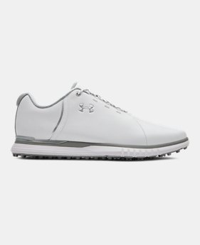 언더아머 여성 골프화 Under Armour Womens UA Fade SL Golf Shoes,White (3021528-100)