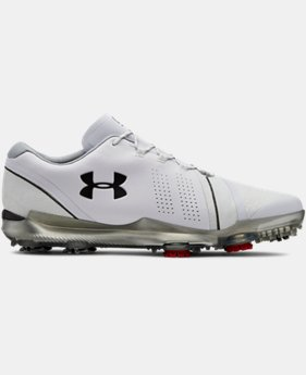 언더아머 남성 골프화 스피스3 Wide E 넓은 발볼 Under Armour Mens UA Spieth 3 Wide E Golf Shoes,White (3022260-102)