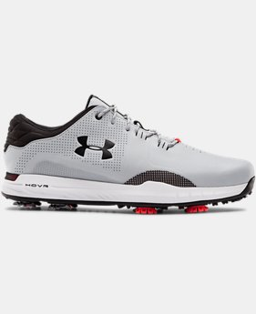 언더아머 남성 골프화 넓은 발볼 (E) Under Armour Mens UA HOVR Matchplay Wide E Golf Shoes,Mod Gray (3023329-103)