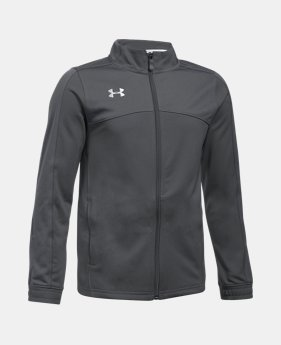 언더아머 Under Armour Boys' UA Futbolista Soccer Track Jacket