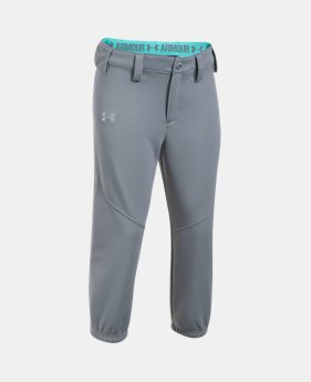 언더아머 걸즈 바지 Under Armour Girls UA Base Runner Softball Pants