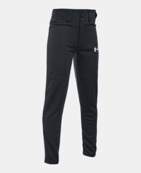 언더아머 UA 보이즈 UA 야구 바지 Under Armour Boys UA Clean Up Baseball Pants
